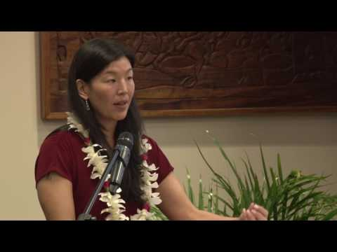 Ai-Jen Poo @ Chaminade University Hawaii - Symposium