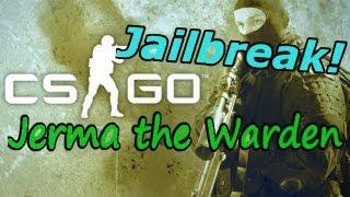 CS:GO Jailbreak: Listen Up Maggots! [Jerma the Warden]