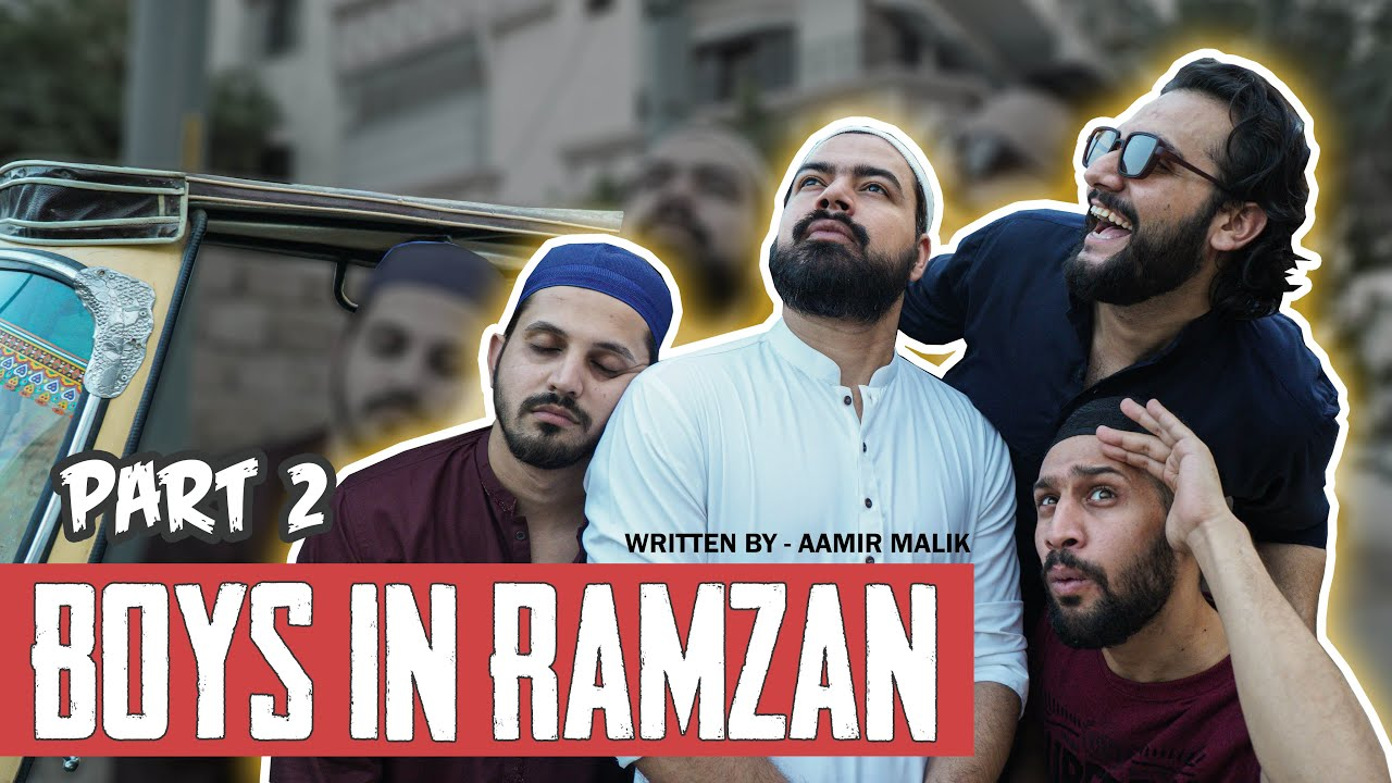BOYS IN RAMZAN (Part 2) | Comedy Skit | Karachi Vynz Official