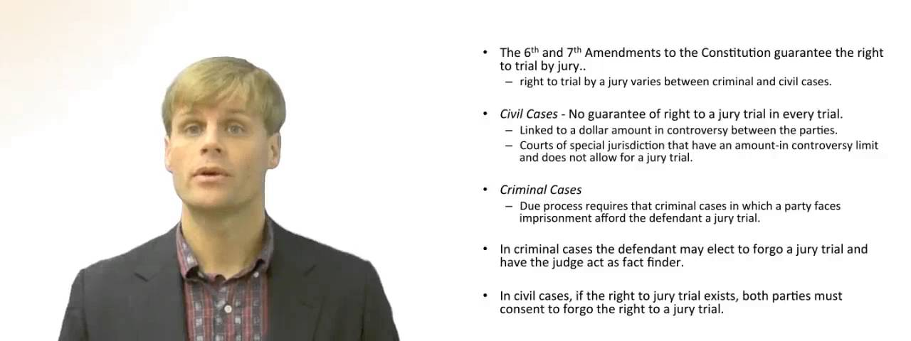 discuss whether trial jury should abolished english legal English common law and the united states constitution recognize the right to a jury trial to be a fundamental civil liberty or civil right(she/he can choose whether to be judged by judges or jury)use jury trials evolved within common law systems rather than civil law systems.