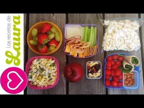 3 Ideas de Lunch Saludable  🍎 Ideas fáciles y rápidas 🍊 SALUDABLES