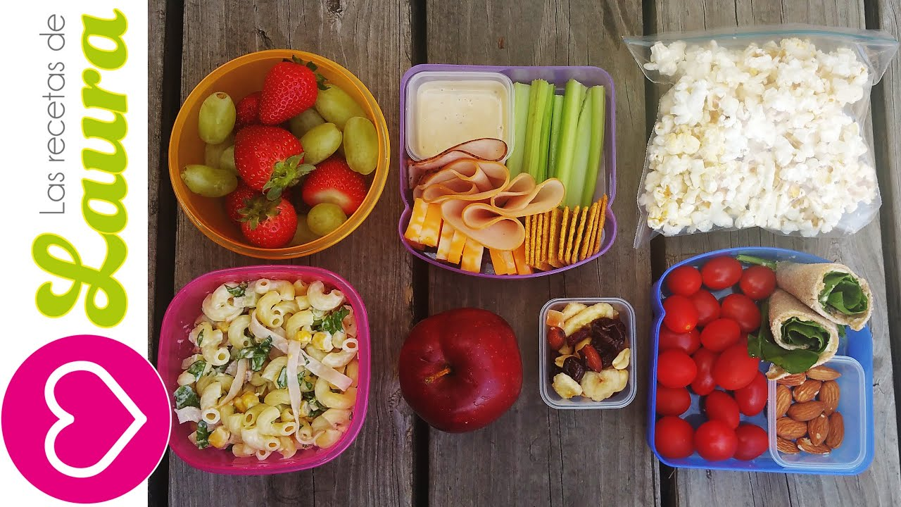 3 ideas de lunch saludable ideas f ciles y r pidas for Ideas de comidas faciles