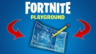 FORTNITE PLAYGROUND - NOUVEAU MODE DE JEU GRATUIT - MINECRAFT