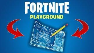 FORTNITE PLAYGROUND \\ NEW MODE \\ FREE PLAY \\ MINECRAFT