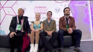 2015 Grand Prix Final  Пары  Короткая программа