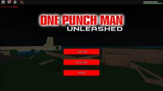 Roblox One Punch Man Unleashed #SoundTrack