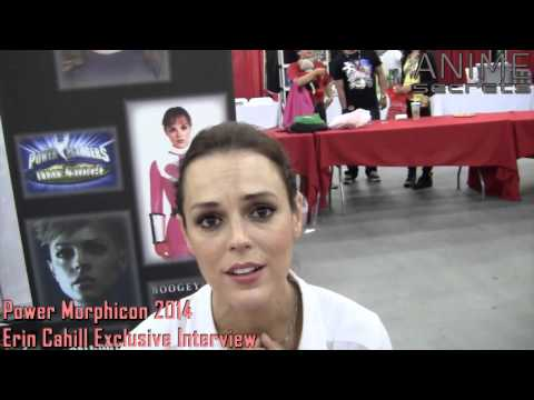 Power Morphicon 2014  Erin Cahill Exclusive
