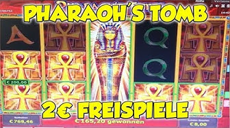 Pharaohs Tomb FREISPIELE auf 2€ - Novoline, Merkur Magie Online Spielothek HD