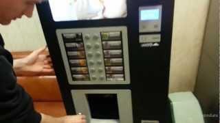 Режим тестового напитка в кофейном автомате Nova Rosso(Как бесплатно пить кофе из вендингового кофейного автомата Nova Rosso. Демонстрация способа через режим тестов..., 2013-03-18T07:41:51.000Z)
