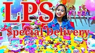 LPS Littlest Pet Shop Huge Collection Special Delivery Surprise l Kids Balloons and Toys