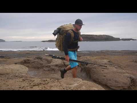 Overnight Fishing Hike, South Coast N.S.W. Australia