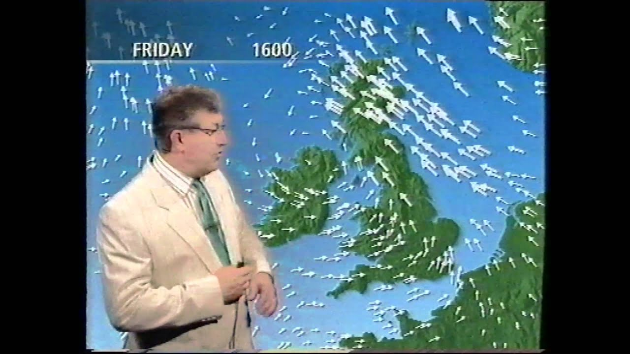 BBC Weather 9th April 1993 - YouTube