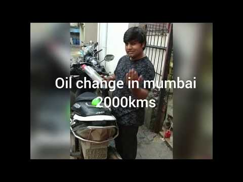 Engine oil change for honda dio in all India ride