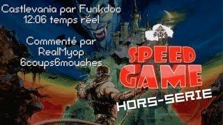 Speed Game Hors-Série: Castlevania en 12:06 par Funkdoc