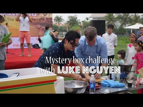 Mystery box challenge with Luke Nguyen & the Australian ambassador
