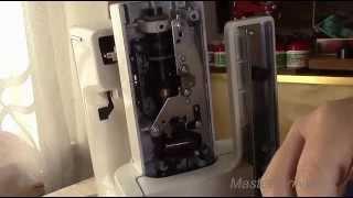 видео Ремонт швейных машин, швейная машина «ЯГУАР»