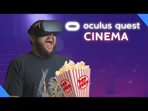 Watching Movies On Oculus Quest - The Ultimate Home Theater?