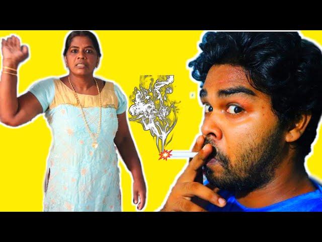 Cigarette വലി Prank On Mom 🔥🔥 🔥 അമ്മയുടെ reaction കണ്ടോ