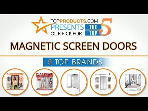 Best Magnetic Screen Door Reviews 2017   How To Choose The Best Magnetic Screen  Door