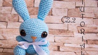 Króliczek na szydełku, cz.2/2. Crochet bunny, part 2/2. Amigurumi