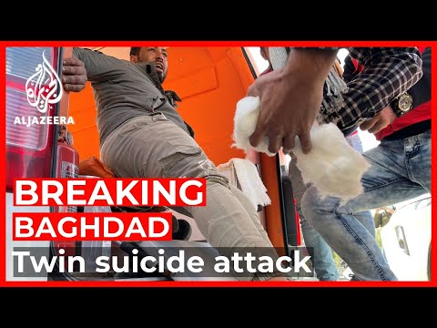 Several dead in twin suicide attack in central Baghdad: State TV