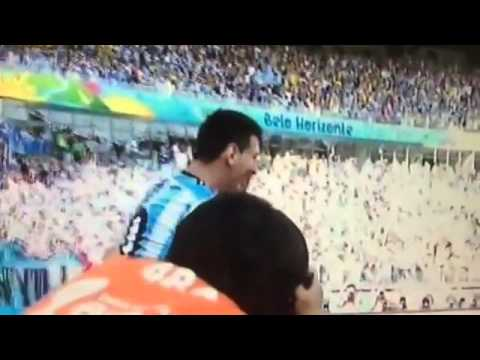 Argentina Vs Iran 1-0 - Lionel Messi Incredible Goal - June 21 2014 - World Cup by infrequent rana