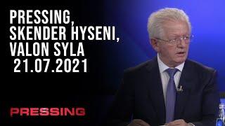 PRESSING, Skender Hyseni, Valon Syla - 21.07.2021