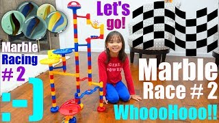 Marble Racing Playtime RACE NUMBER 2. FORTNITE Dance! FORTNITE Dancing! Kids