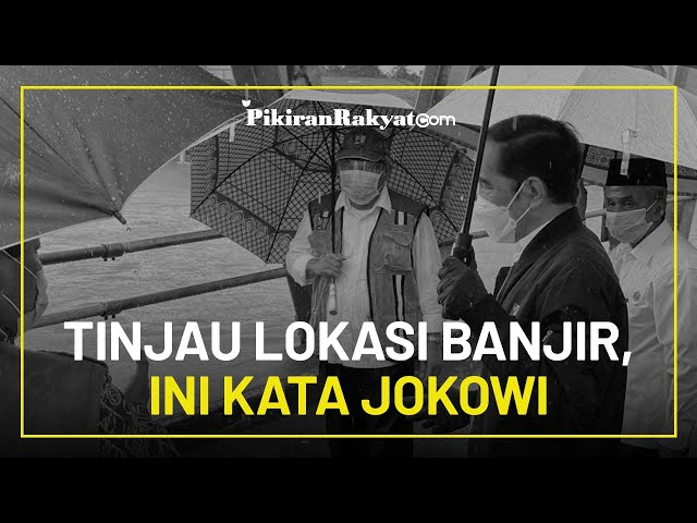 Tinjau Lokasi Banjir di Kalimantan Selatan, Jokowi Sebut Ini yang Pertama dalam 50 Tahun Terakhir