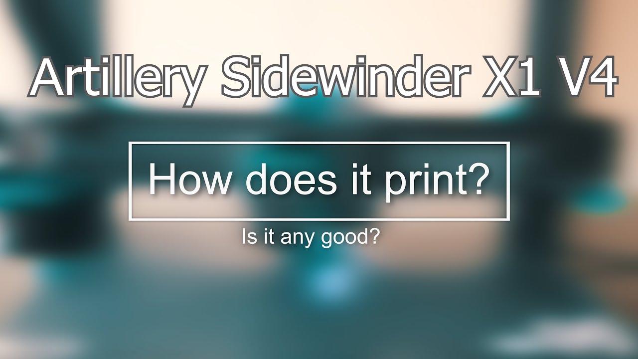 video Artillery 3D Sidewinder X1 V4