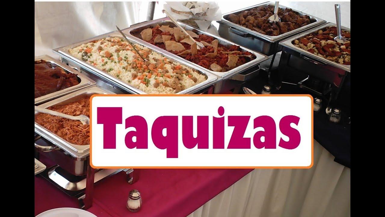 taquizas para fiestas taquizas para eventos comida para
