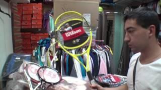 Теннис для начинающих - ВЫБОР РАКЕТКИ.
