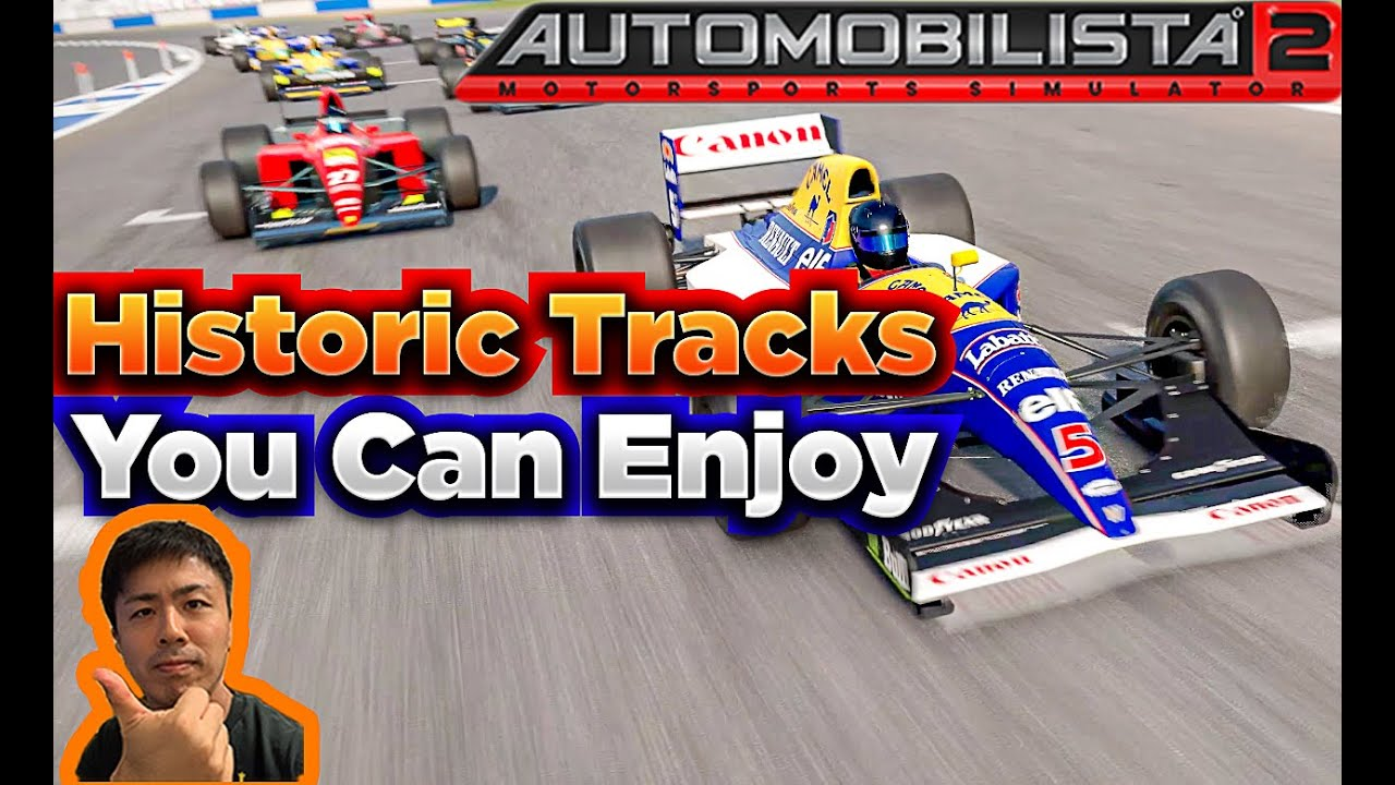 KenRacing:700hrs of Automobilista 2 Favorite Legendary Historic Tracks
