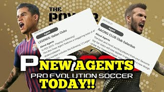 TODAYS (21/02/19) NEW AFENTS!! - NEW BOX DRAWS!! - PES 2019 MOBILE YouTube Videos