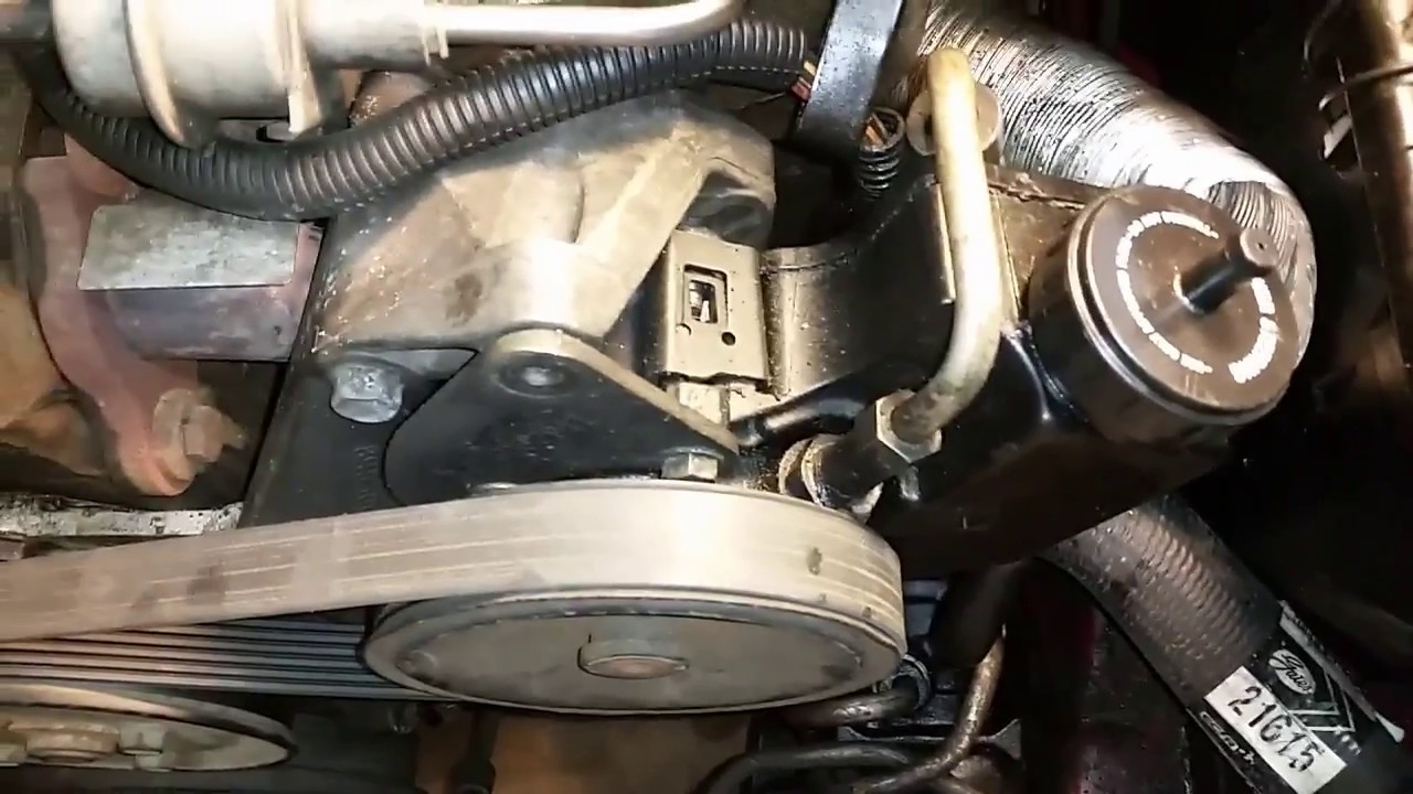 easiest way to remove serpentine belt on 88 jeep cherokee [ 1280 x 720 Pixel ]