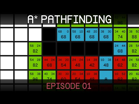 A* Pathfinding (E01: algorithm explanation)