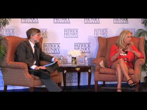 Patrick Henry College Newsmakers Interview    Donna Rice Hughes