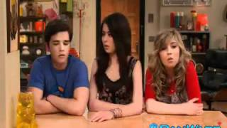 carly sam and fredie singing icarly - drake & josh - victorious song