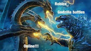 RRG:roblox Godzilla online battles