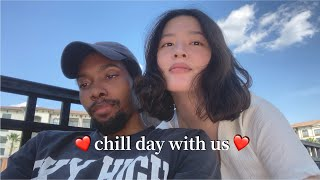 Chill days with us: Downtown Orlando/Pool time/Homemade Pizza Blasian Couple sometimes with Keys