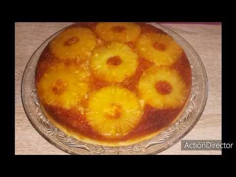 gâteau-à-l'ananas-moelleux-et-facile-🍍👍