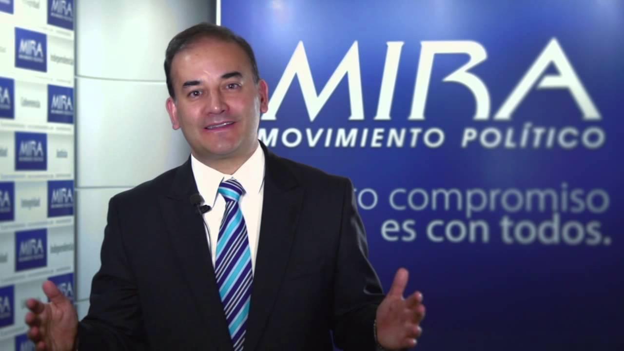 Resultado de imagen para Presidente del Mira, Carlos Alberto Baena