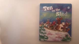 Toddler Sled - Baby and Toddler Story time   Christmas / Winter   Ten on the Sled