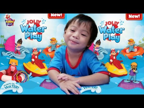 Jollibee Kiddie Meal Water Play May 2019 New Jolly Toy