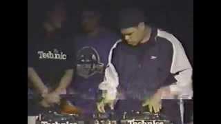 DJ Presyce at DMC USA Finals 1998