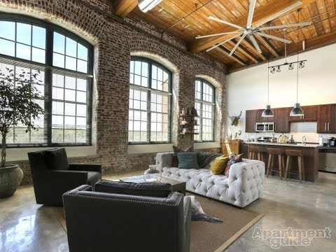 Our New Industrial Apartment!!