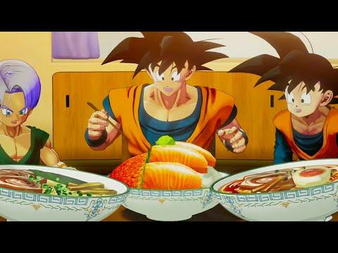 Dragon Ball Z Kakarot - ALL Full-Course MEALS 💥