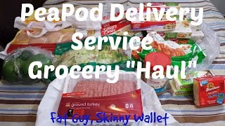 Peapod Grocery Delivery Service by Stop & Shop   Blizzard Haul