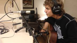 "Boys Like Girls ""Be Your Everything"" Cover by ~Lucas Gatley (Live)"