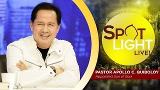 SPOTLIGHT by Pastor Apollo C. Quiboloy • January 17, 2019